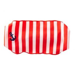 Azul Girls Red White Stripe In The Navy Stylish Stretchy Headband