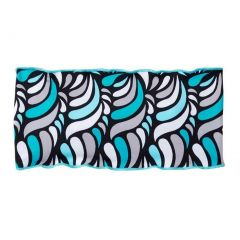 Azul Girls Aqua Turquoise Vibrant Print Cloud 9 Stylish Stretchy Headband