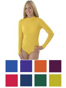 Pizzazz Women Multi Color Body Basics Bodysuit Adult S-2XL