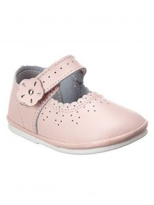 Angel Baby Pink Scalloped Mary Jane Shoes 1-7 Toddler
