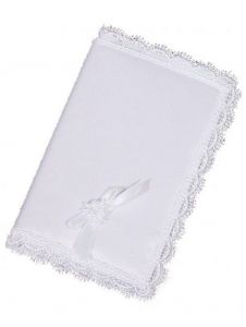 Little Things Mean A Lot White Satin Cover Bag King James Bible