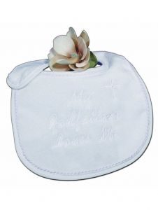 Little Things Mean A Lot White My Godfather Loves Me Bib