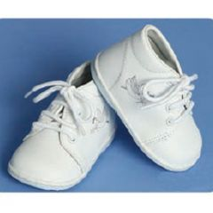Angels Garment Baby Boys White Dove Christening Shoes 4