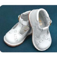 Angels Garment White T Strap Easter Baby Toddler Girl Shoe 3-10.5
