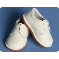 Angels Garment White Shoe Size 5 Toddler Boy Girl Lace Oxford