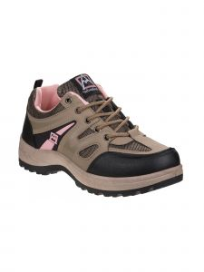 Avalanche Adult Taupe Coral Outdoor Lace Up Hiking Sneakers 6-10 Womens