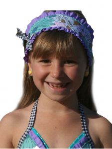 Azul Girls Purple Anything Goes Headband S