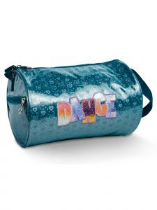 DanzNmotion Girls Blue Dance And My Hearts Duffel