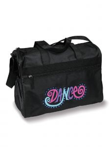 DanzNmotion Girls Black Dance Bright Gear Bag
