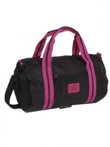 DanzNmotion Girls Black Punch Hole Dance Duffel