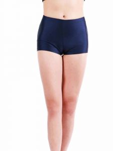 Annie Big Girls Navy Bally Low Rise Dance Shorts 8-12