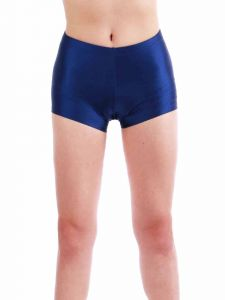 Annie Big Girls Prussian Blue Bally Low Rise Dance Shorts 8-12