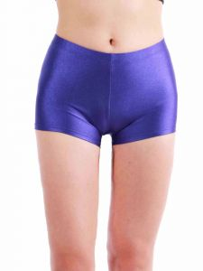 Annie Big Girls Violet Bally Low Rise Dance Shorts 8-12