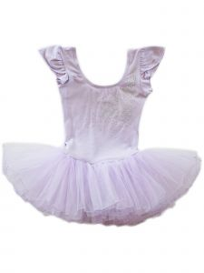 Wenchoice Baby Girls Lavender Glitter Rhinestone Bow Ballet Dress 9-24M