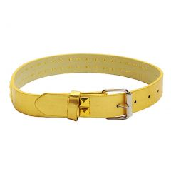 Gold 2 Row Studded Genuine Leather Fashion Belt Girls S-XL (19-35 in)
