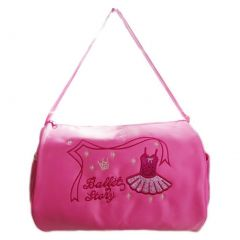 "Wenchoice Girls Pink Ballet Dress ""Ballet Story"" Detail Dance Stylish Duffel Bag"