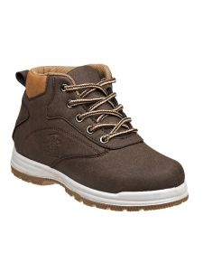 Beverly Hills Boys Brown Lace Up Closure Casual Winter Boots 11-3 Kids