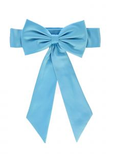 Lito Girls Multi Colors Satin Ribbon Embellished Special Occasion Sash NB-12Y