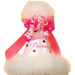 Boutique Baby Girl Accessory WHITE BIRTHDAY PRINCESS Party Hat