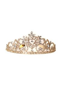 Cinderella Couture Girls Multi Color Rhinestone Teardrop Wedding Pageant Tiara