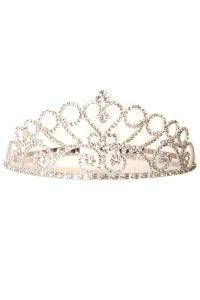 Cinderella Couture Girls Multi Color Wedding Pageant Rhinestone Comb Tiara