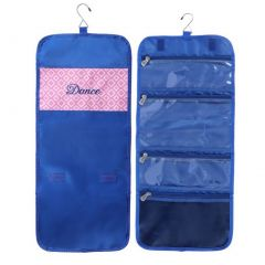 Girls Diamond Navy Dance Embroidery Hanging Accessory Bag