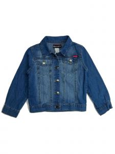 Sprockets Little Girls Denim Stitch Detail Western Jacket 2T-6