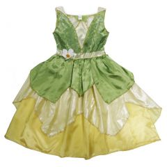 Wenchoice Girls Green Wizard Of Oz Inspired Halloween Dress S (4-6)-L (10-12)
