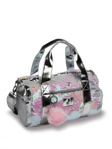 DanzNmotion Girls Multi Pearlescent Duffel
