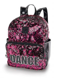 Danshuz Hot Pink Black My Hyped Cheetah Roll Backpack