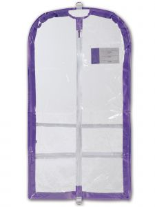 Danshuz Lavender Competition Garment Bag Purse