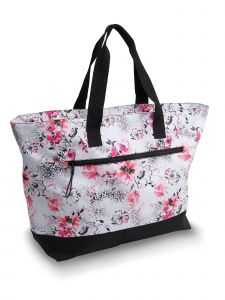 Danshuz My Cheetah Floral Tote Bag Purse