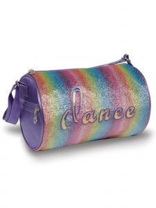 Danshuz Rainbow Dance Duffle Bag Purse