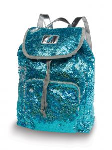 Danshuz Turquoise Mermaid Sequin Bag Purse