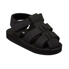 Angel Baby Unisex Black EVA Foam Fisherman Sandals 5-10 Toddler