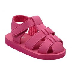 Angel Baby Girls Fuchsia EVA Foam Fisherman Sandals 5-10 Toddler