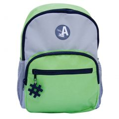 Aquarella Kids Boys Blue Gray Green Keychain Durable Elementary Backpack