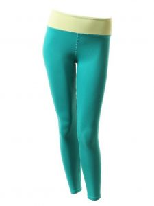 Veva by Very Vary Big Girls Turquoise Gaya Ankle Leggings 6-12