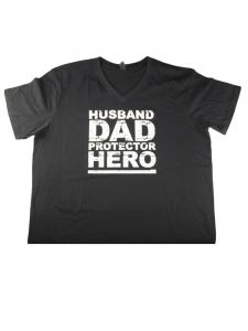Children Park Avenue Man Black Husband Dad Protector Short Sleeve T-shirt S-XXL