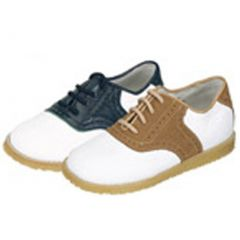 Selection of Saddle Dress Lace-up Shoe Toddler Little Boys Size 7-2