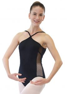 Veva by Very Vary Women Black Ivy Dance Leotard XS-XL