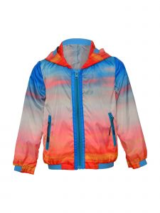 Island Kids & Kids Isle Big Boys Multi Color Hooded Jacket 8-12