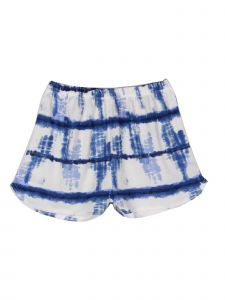 Lori Jane Big Girls Blue Tie Dye Shorts 6-16
