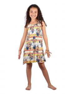 Lori Jane Big Girls Floral Trendy Dress 6-14