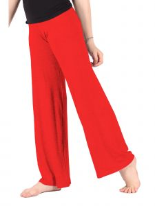 Lori Jane Big Girls Red Palazzo Pants 6-16