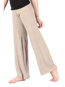 Lori Jane Big Girls Oatmeal Palazzo Pants 6-16