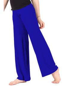 Lori Jane Big Girls Royal Blue Palazzo Pants 6-16