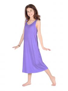 Lori Jane Big Girls Lavender Trendy Maxi Dress 6-16
