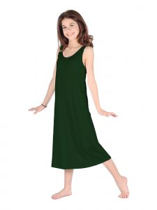 Lori Jane Big Girls Hunter Green Trendy Maxi Dress 6-16