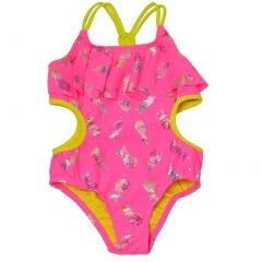 Limited Too Little Girls Hot Pink Pineapple Monokini One Piece Swimsuit 2-4T